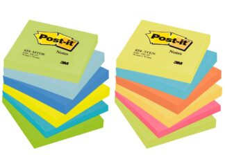 Sticky notes Post it neon 76x76mm 100sheets 3M
