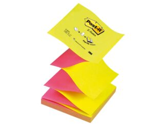Sticky notes Z-Notes neon Post-it 76 x 76mm, 100 sheets, 3M