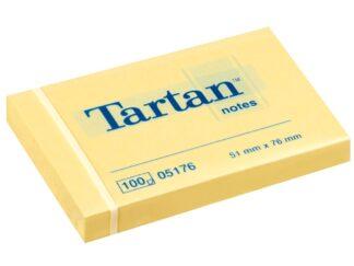 Sticky notes 51x76mm 100f  Tartan