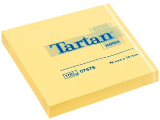 Sticky Notes 76x76mm 100f Tartan