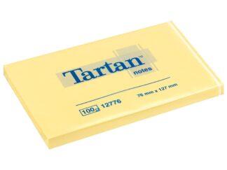 Sticky notes Tartan 76x127mm 100sheets