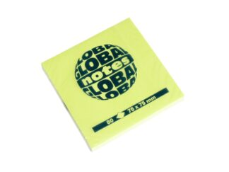 Sticky notes Briliant 75 x 75mm, 80 sheets Global Notes
