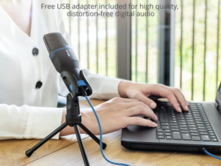 Trust Mico USB Microphone for PC / laptop