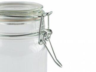Glass storage jar with lid 250 ML