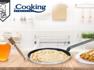 PROFESSIONAL FRYING PAN. ALUMINUM PANCAKES 28x3 CM