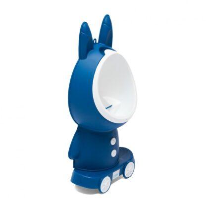 Blue boys urinal