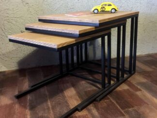 SET OF 3 COFFEE TABLES PEN