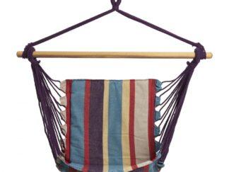 HR Suspended hammock Red & Blue STRIPE 100X55