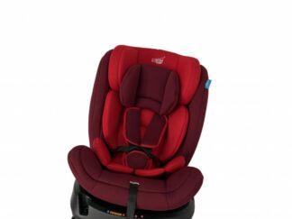 Isofix swivel car seat, 0-36kg, red