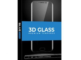 BLUE iPhone 12 ProMax 3D Black Glass Foil