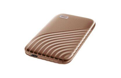 Western Digital EXT SSD 2TB USB 3.2 MY PASSPORT GOLD