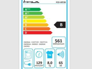FRAM FHPD-V8T2BKA++ tumble dryer