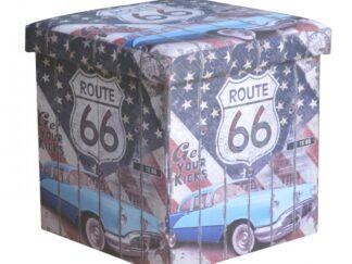 FOLDING STOOL - ROUTE 66