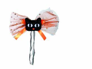 Textile hair accessory, cat shape