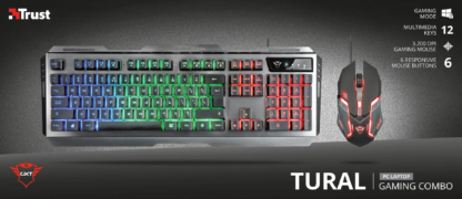 Trust GXT 845 Tural Gaming Combo