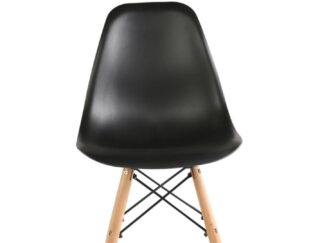 SET OF 4 PIECES BLACK TRULY CHAIR