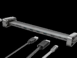 Trust Dalyx Aluminium 10-in-1 USB-C Dock