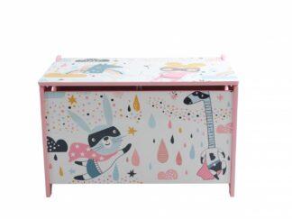Super girl storage bench
