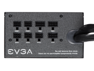 EVGA PSU 850 BQ 80+ BRONZE 850W SemiMod