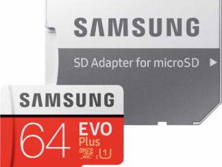 MICROSDXC EVO 64GB CL10 UHS1 W/ AD SM
