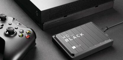 """EHDD 2TB WD 2.5"""" BLACK P10 GAME DRIVE XB"""