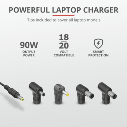 Trust Maxo 90W Laptop Charger for Dell