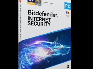 Bitdefender Internet Security2021 License 1 Device 1 year Retail