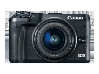 PHOTO Canon Camera EOS M6 EF-M 15-45MM