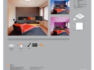 LED PANEL LEDVANCE 4058075525221 45X45CM