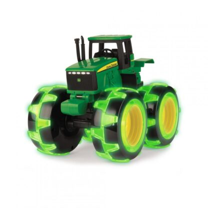 Tractor with  wheels luminate