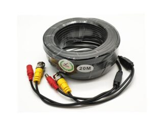 VIDEO CABLE + POWER SUPPLY 20M