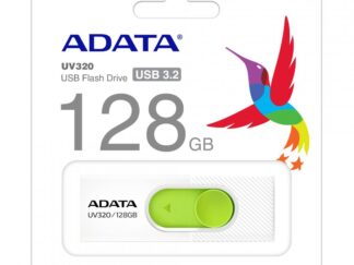 USB Flash Drive ADATA UV320 128GB WHITE/GREEN RETAIL