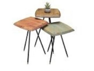 SET OF 3 EFES COFFEE TABLES