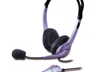 Headphones with microphone GENIUS HS-04S black