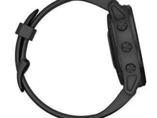 Fenix 6S PRO Black w/Black Band (Glass)