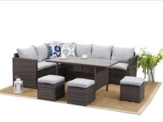 HR Athens furniture set 7 pieces