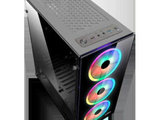 NJOY ORYN CASE WITHOUT ATX RGB NO POWER SUPPLY