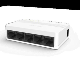 SWITCH 5 PORTS UNMANAGED