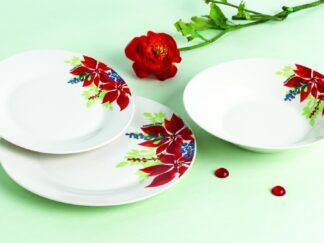 Tableware 18 pieces porcelain, DIVYA