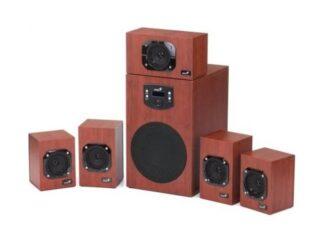 Audio System 5.1 GENIUS SW-HF5.1 4600 II Wood