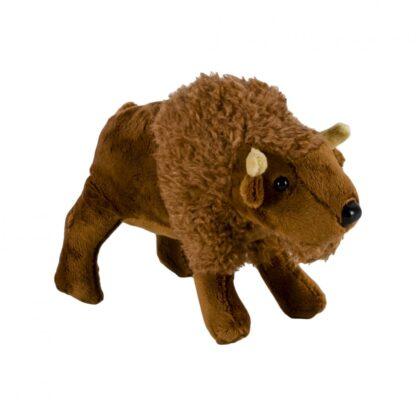 Plush bison, 18 cm