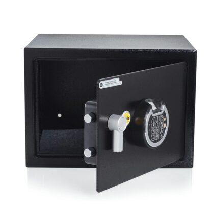 YALE MEDIUM SAFE BOX WITH FINGERPRINT