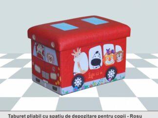 TABURET PLIABIL PVC PTR copies Red