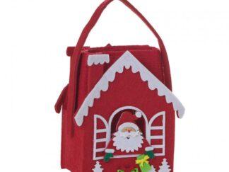 Kitchen towel with Santa bag