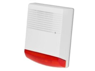 Outdoor siren with flash, BS-OS359