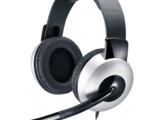 Headphones + Microphone Genius HS-05A Black