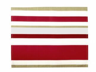 INDIVIDUAL BBC 35X45 CM- Red Stripes