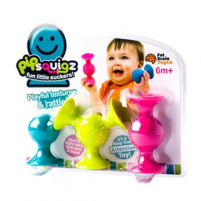 Fat Brain Silicone shapes with suction cups