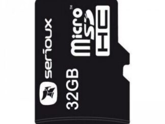 MICROSDHC 32GB SERIOUX with adaptor CL10