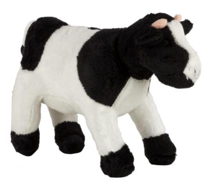 Plush cow, 16.5 cm